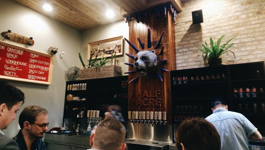 Half Acre Brewing Co, Chicago, IL