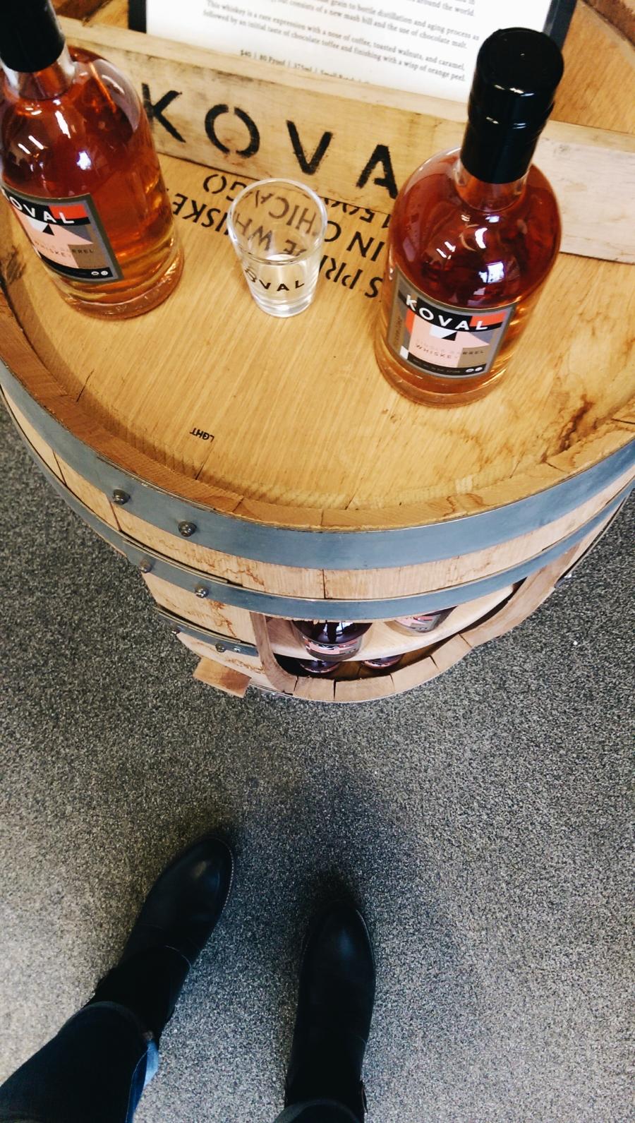 koval distillery tour chicago