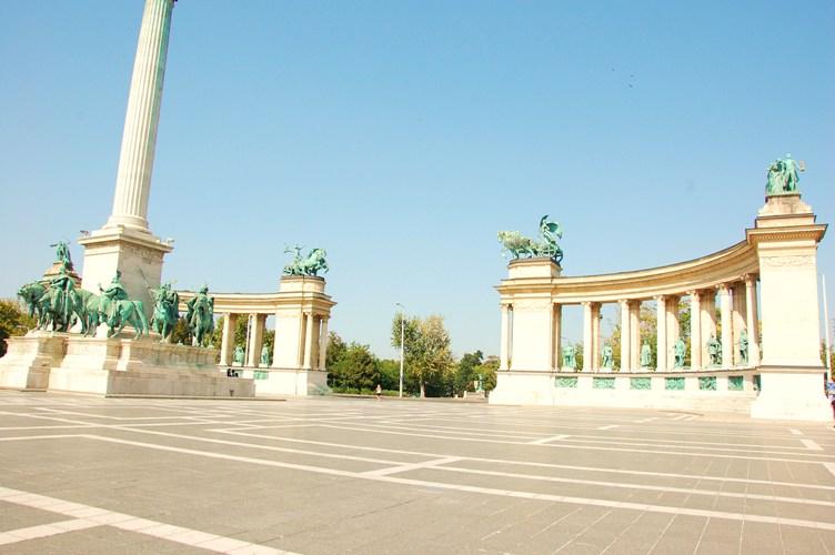 Hero's Square, Budapest, HU