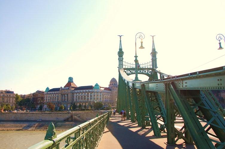Liberty Bridge, Budapest, HU