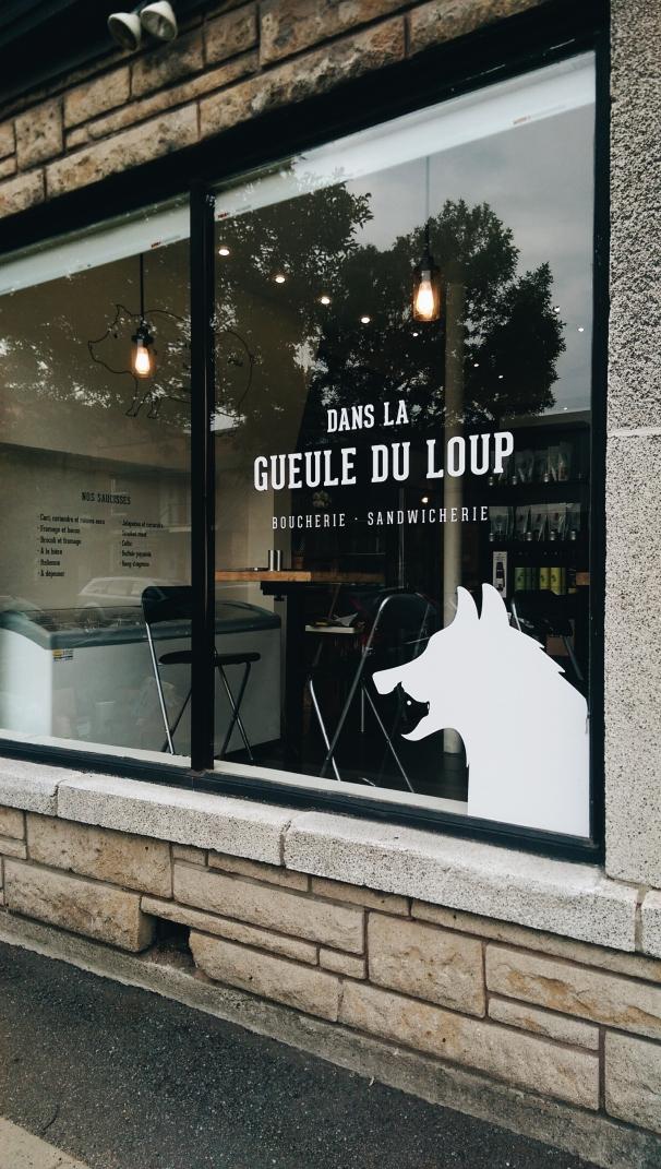 dans la gueule du loup - Montreal, Quebec